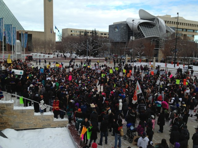 Edmonton protest, via Rabble.ca