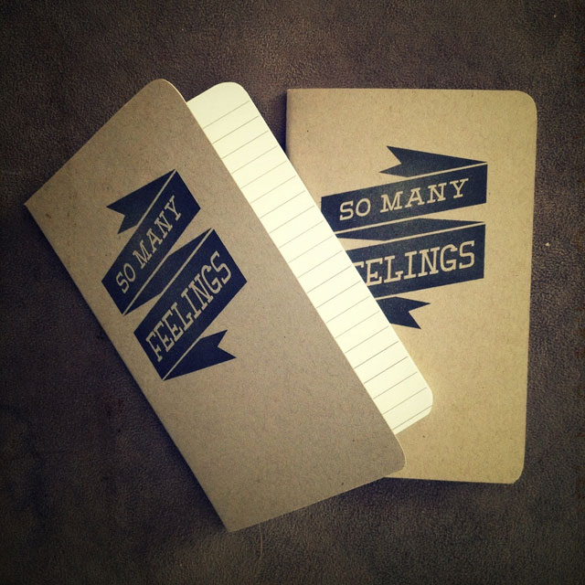 Bound for Anything custom memo journals