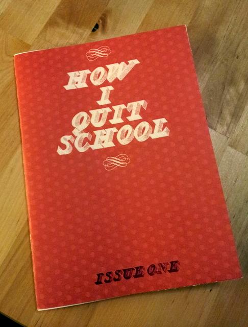 howiquitschoolzine