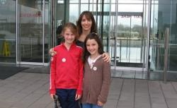Kripke and her daughters via Slate