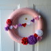 Make A Thing: Valentine's Day Yarn Wreath