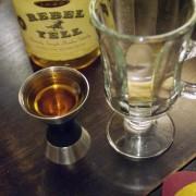 measuring bourbon