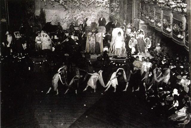 A SCENE FROM THE HAMILTON LODGE BALL
