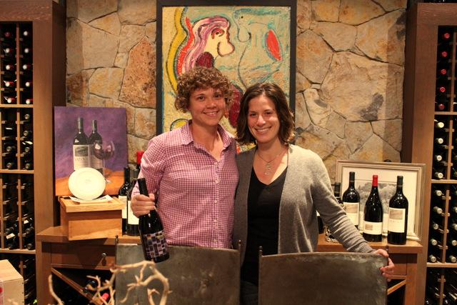 Larisa Stephenson and Dana Sabin of Stand TALL Wine Co.