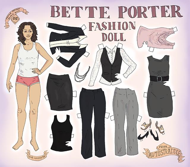 bette porter paper dolls