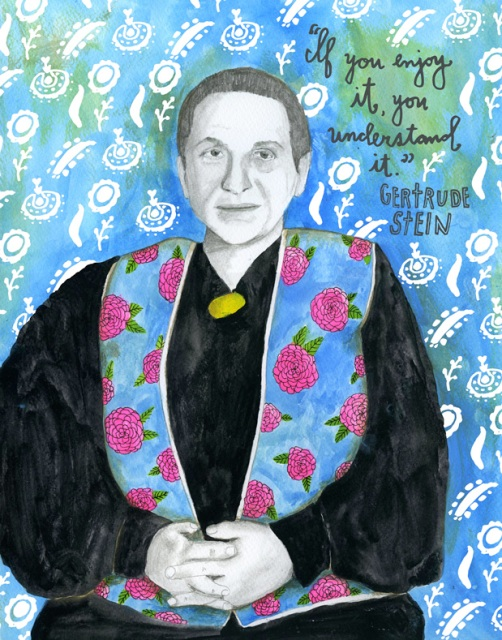 Gertrude Stein via The Reconstructionists