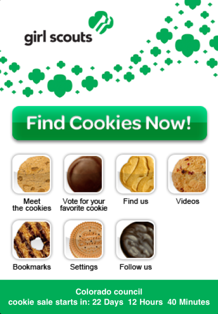 FIND THE COOKIES NOW.