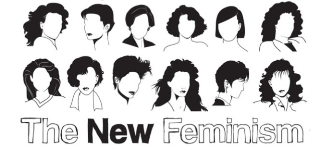 THE NEW FEMINISTS ALSO HAVE EXCELLENT HAIR; OCCASIONAL LIPSTICK {VIA IMP KERR}