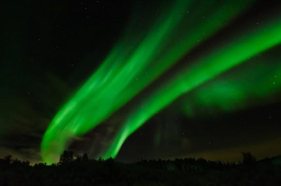 via universetoday.com Northern Lights over Saskatoon, Saskatchewan