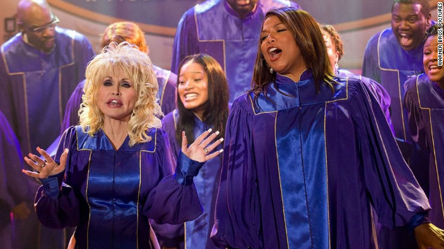 Dolly Parton and Queen Latifah in A Joyful Noise