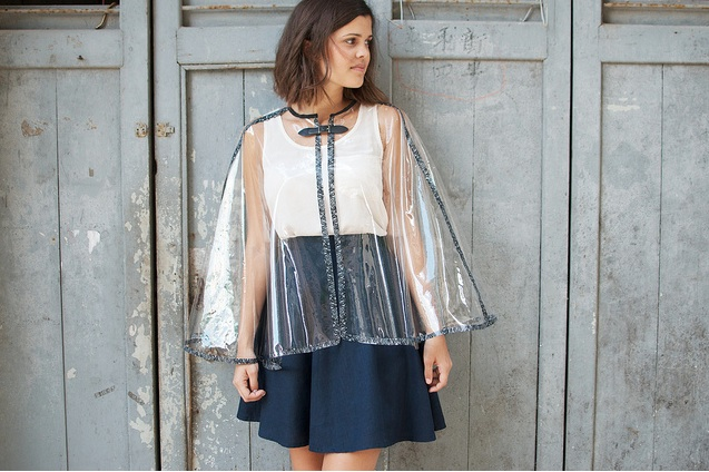 DIY Burberry Inspired Transparent Raincape