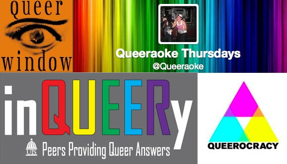 "EVENTS BROUGHT TO YOU BY THE LETTER ""QUEER"""