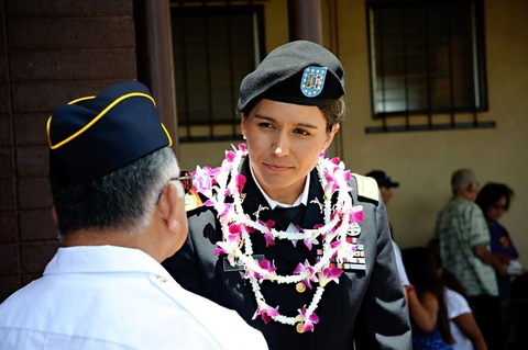 TULSI GABBARD, CONGRESSWOMAN AND EXTREMELY WELL-DECORATED NATIONAL GUARDSWOMAN