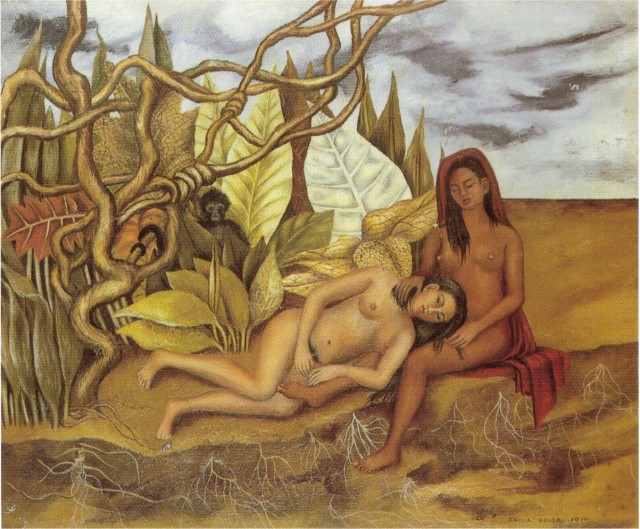 two-nudes-in-the-forest-the-earth-itself-1939