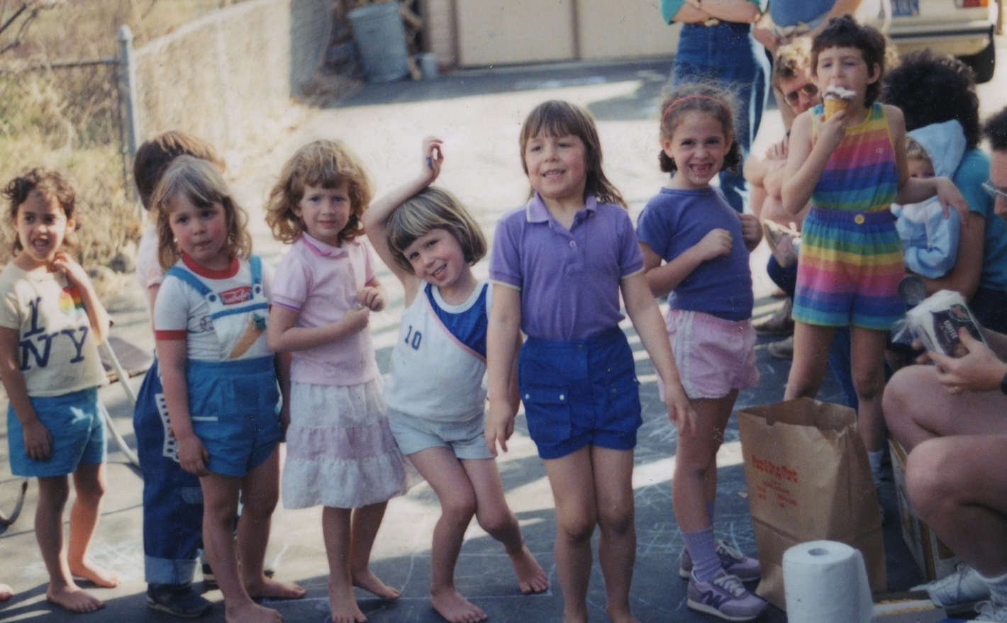 you could be as happy as i am in this picture of waiting in line for ice cream circa 1987