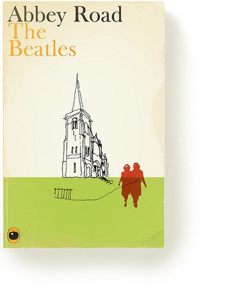 Part of a series where artist Christophe Gowans imagines If best selling albums had been books instead, via ceegworld.com