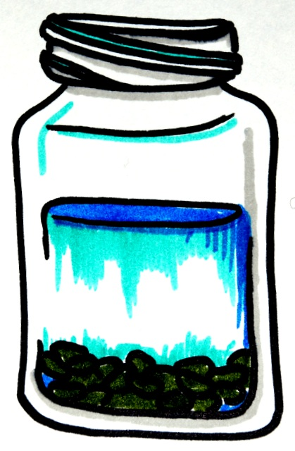 """All of my advice can be summarized as """"put into a jar of water"""""""