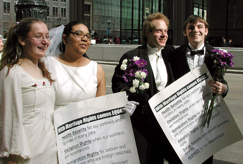 gay marry lesbian
