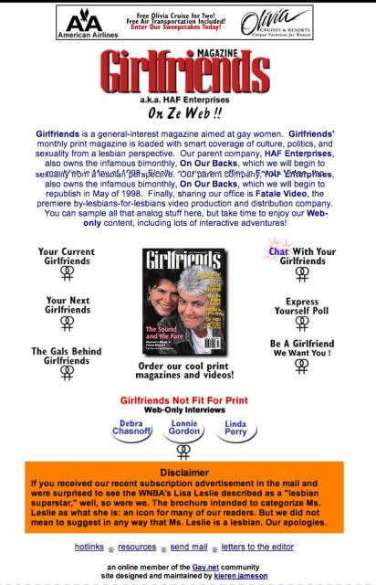 Girlfriends-Jan-24-1998