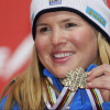 Anja Pärson: Swedish, Alpine Skiing. via AFP
