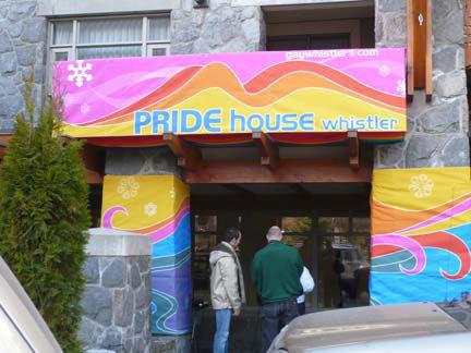 Whistler's Pride House