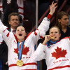 Sarah Vaillancourt: Canadian, Hockey. (L) via Women's Hockey Life