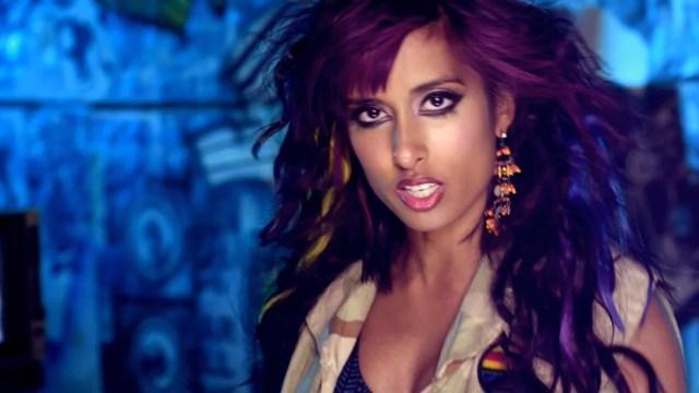 Canadian pop artist Anjulie