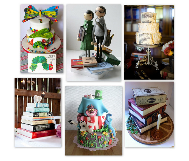 via  pinterest.com/RandomHouseCA/book-cakes/