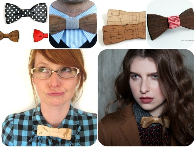 clockwise from left: good wood nyc, TwoGuysBowTies, HavokDesigns, TwoGuyBowTies, havocdesigns, fancy