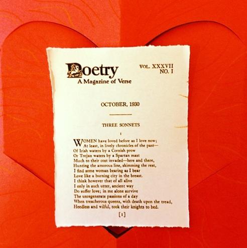 Edna St. Vincent Millay via http://poetrysince1912.tumblr.com/