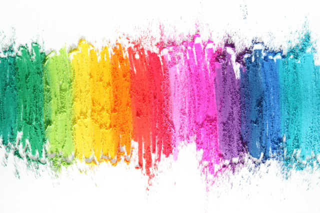 "this is what i think of when i think of ""art"" and also ""lgbtq"" and also ""perfect"" via shutterstock"