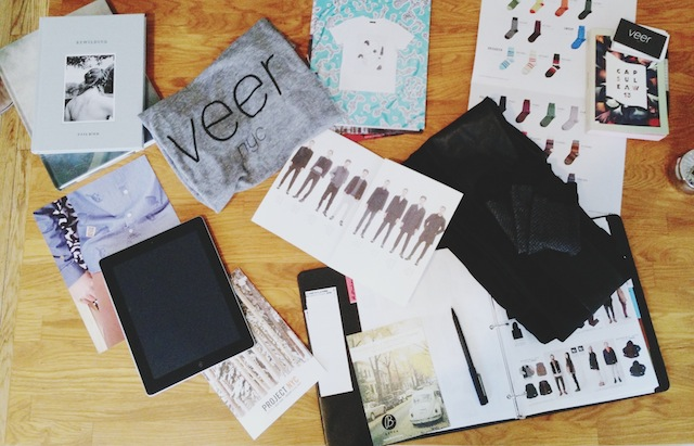 t-shirts and look books and excitement, oh my