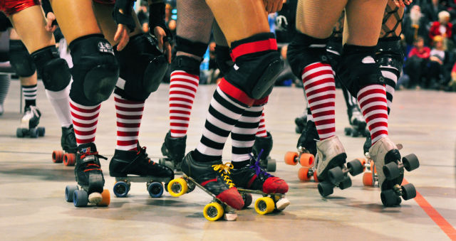 How could you resist those socks? Via My Derby Adventure