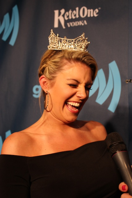 """the vp of communications at glaad told us he loves autostraddle because we're """"hilarious"""" and it looks like miss america agrees, just sayin' copyright vanessa friedman"""