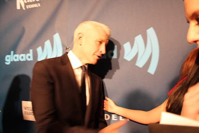 this is the best i could do capturing the silver fox -- don't be mad, i tried so hard for you guys copyright vanessa friedman