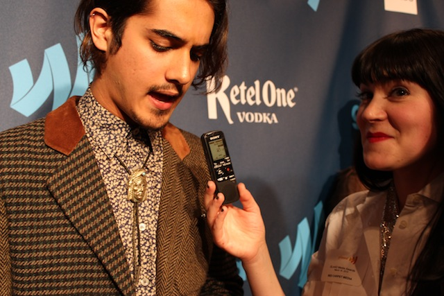 lizz was really excited to interview avan jogia copyright vanessa friedman