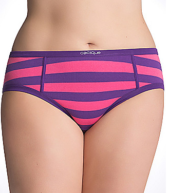 Cacique Sassy cotton boyfriend hipster panty