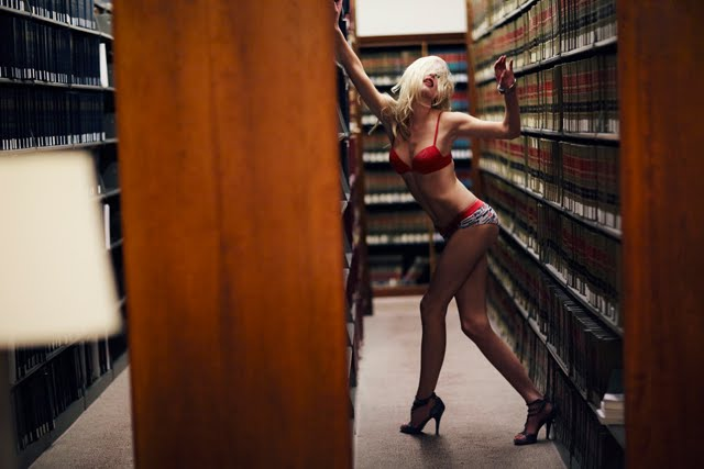 librarian in underpants