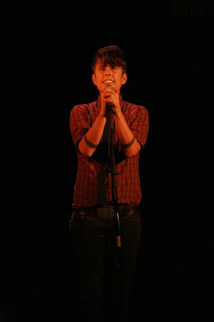 andrea gibson, bowery poetry club, new york copyright vanessa friedman 2012