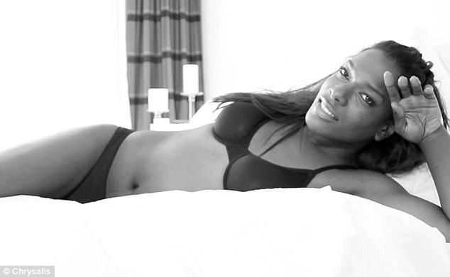 Jasmine via Chrysalis, a new line of lingerie for transgender women
