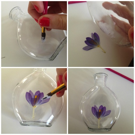 Put a flower on it and in it diy floral flower vase