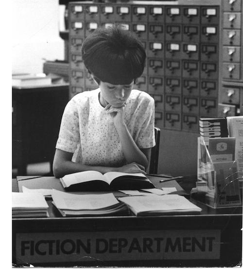 girl reading 1960s smaller