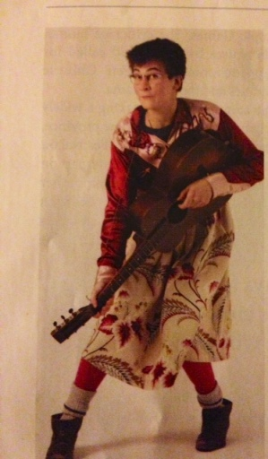 A young, adorable K.D. Lang. Check out the socks.  via Alberta Views Magazine  July/August 2011