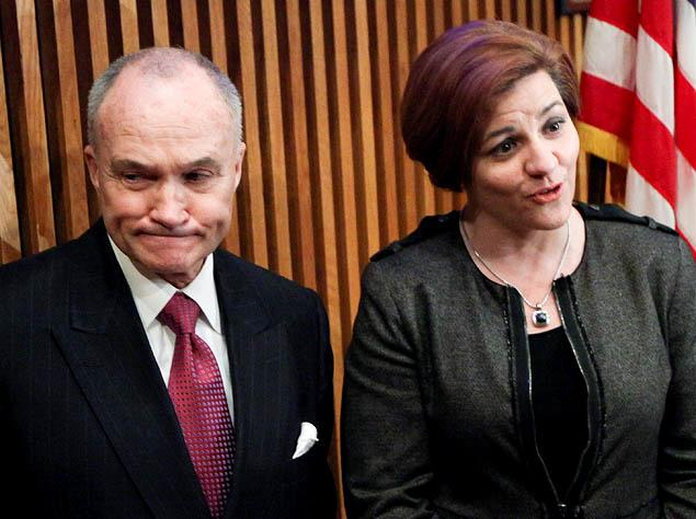 RAY KELLY AND CHRISTINE QUINN {VIA NY DAILY NEWS}