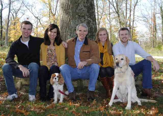 Senator Portman's family includes a gay son and really adorable dogs and he's okay with that. via {NPR