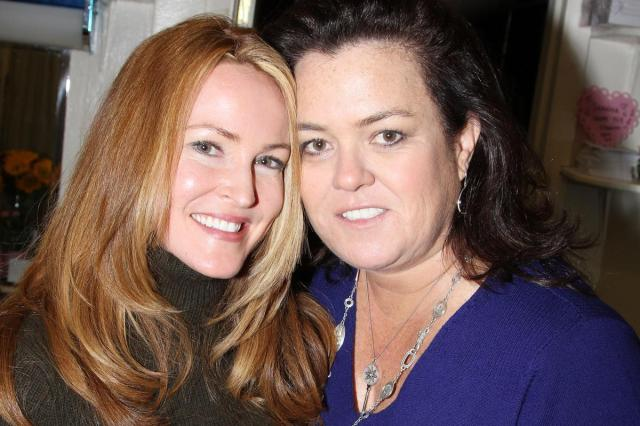 rosie o'donnell, 50, with her wife michelle rounds, 40