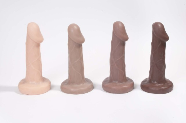 Shilo is available in four colors: Cashew, Caramel, Hazelnut, and Chocolate via {New York Toy Collective}