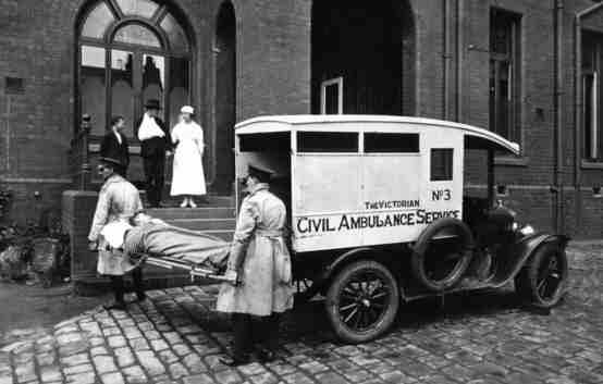 ST. VINCENT'S HOSPITAL IN 1916; 2016? {VIA LE CHIK BATIK}