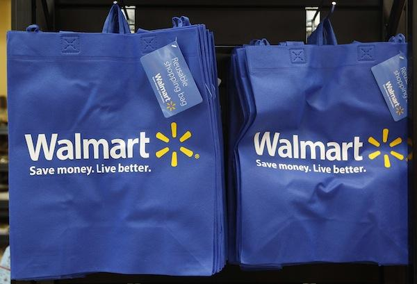 Thanks to Wal-Mart for donating these totes for our gift bags!