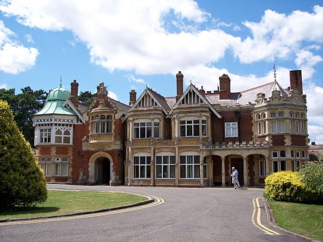 Bletchley Park via Wikimedia Commons